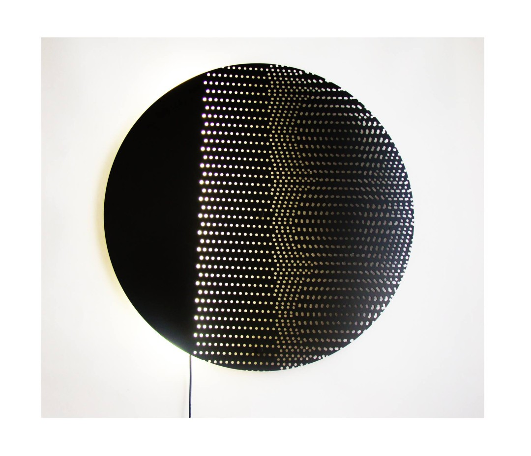 "Wall lamp ""Moon"""