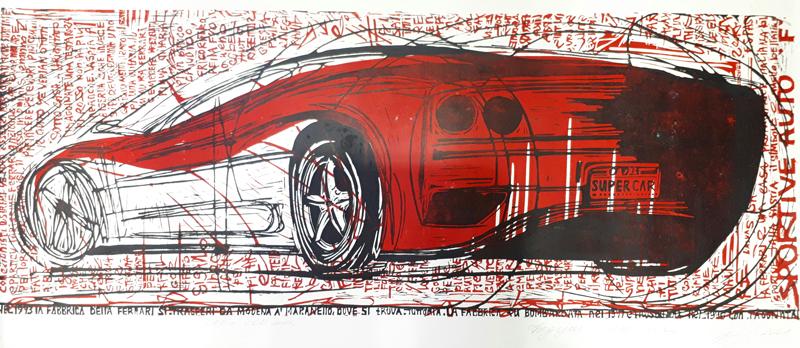 """Natalia Fedun """"Red Ferrari"""""""