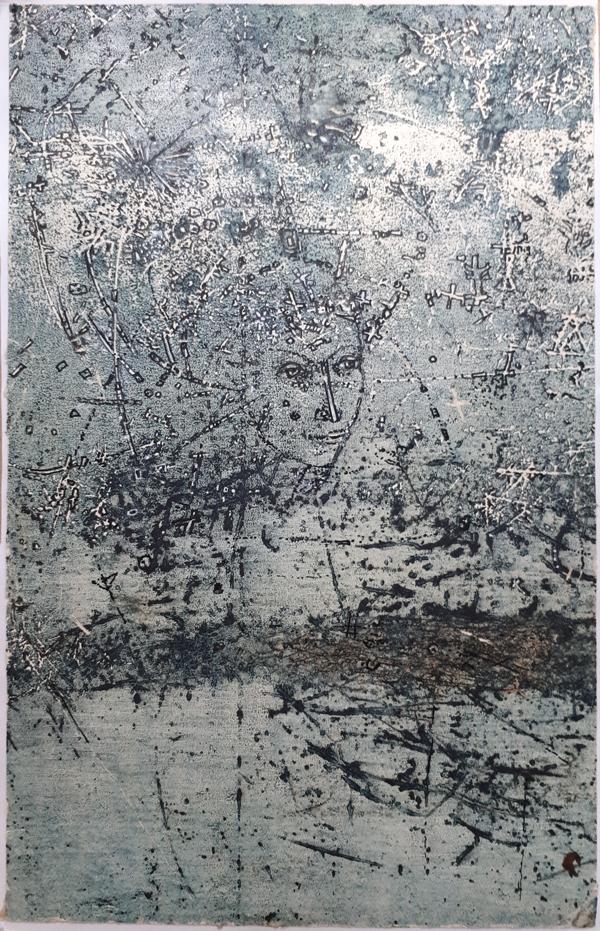 """Ihor Bodnar """"Gueen of the night"""". 2000 y."""