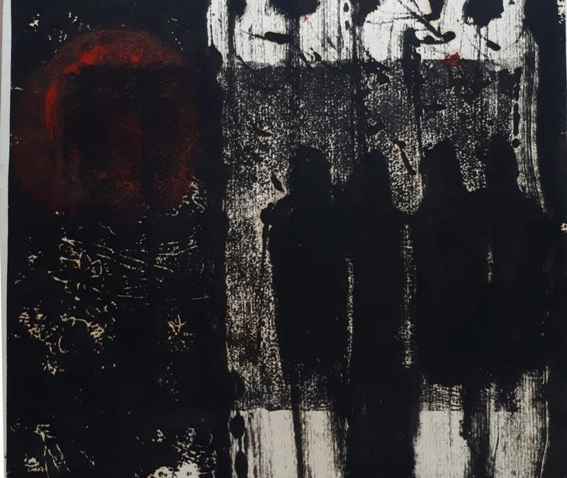 """Ігор Боднар. """"Трагічна ніч ІІ"""". 1983"""