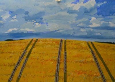Олеся Казнох «Пшеничне поле» З циклу «Орна земля»