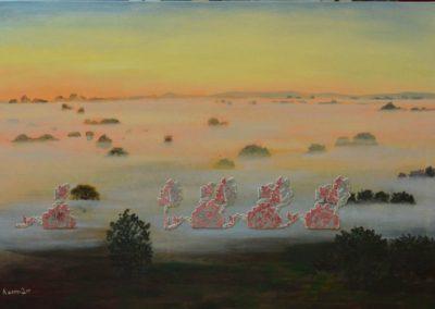 Олеся Казнох «Серпневий туман». З циклу «Так природно»