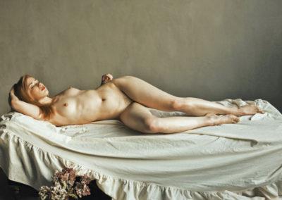 Nude and dry hydrangeas/ Serhiy Mykhalkiv