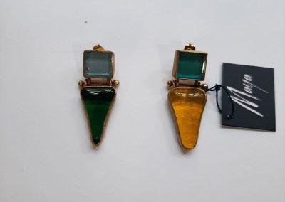 Earrings by Maya handmade jewelry
