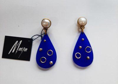 "Earrings by Maya handmade jewelry. ""Star"""