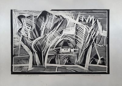 "Ivan Ostafiychuk ""There after trees"", 2014"
