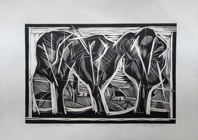 "Ivan Ostafiychuk ""The houses behinde the trees"", 2014"