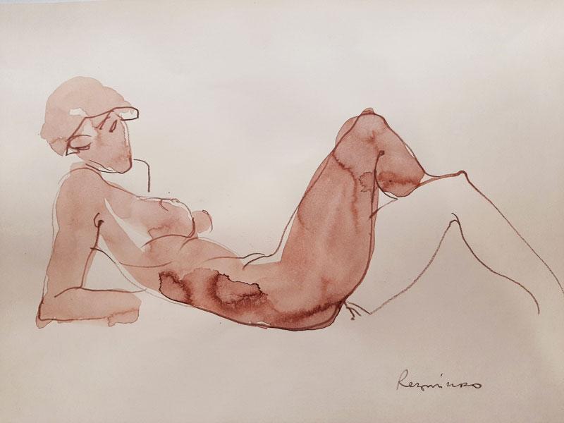 Serhiy Reznichenko. Sketch. 2