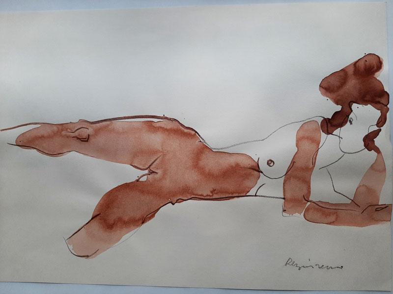 Serhiy Reznichenko. Sketch. 7
