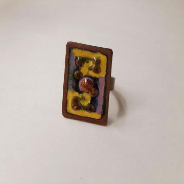 Ring №8. Koziy enamels