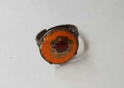 Ring №2. Koziy enamels