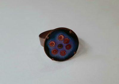 Ring №3. Koziy enamels