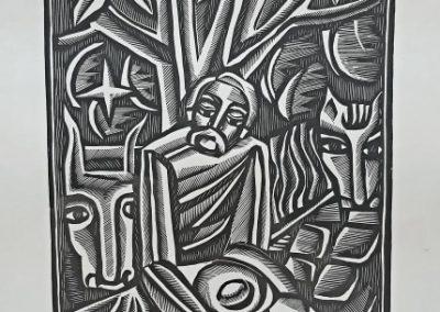 PEASANT. Ivan Ostafiychuk. 1968