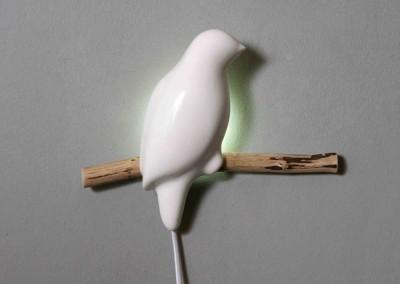 "Wall lamp ""Bird"""