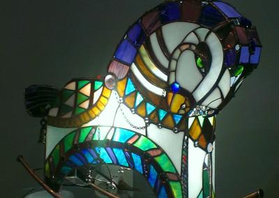 Horse. Light. Natalia Gaydash hand made.