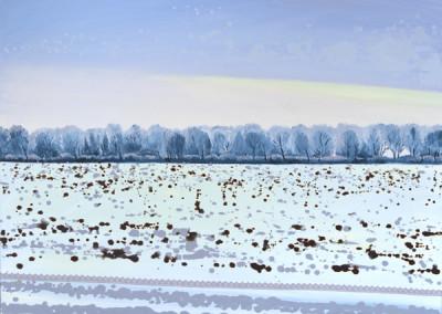 Winter on roadsite. Olesya Kaznokh