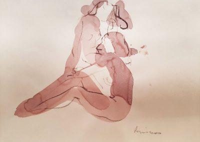 Serhiy Reznichenko. Sketch. 6