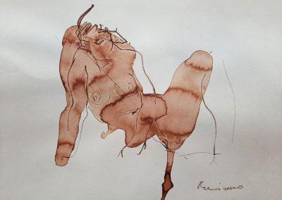 Serhiy Reznichenko. Sketch. 9