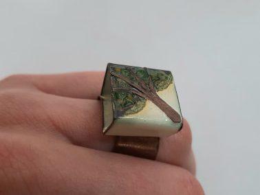Ring №11. Koziy enamels