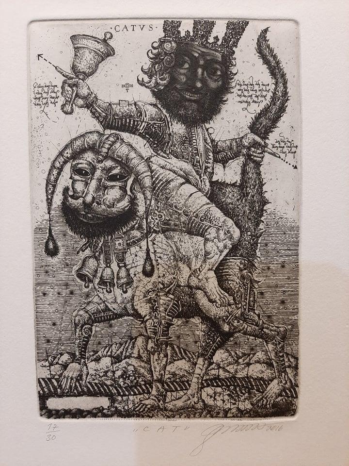 "Oleg Denysenko ""Cat"" 2016"