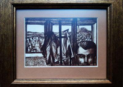 """Zenoviy Flinta """"Selfportrait"""" 1974"""