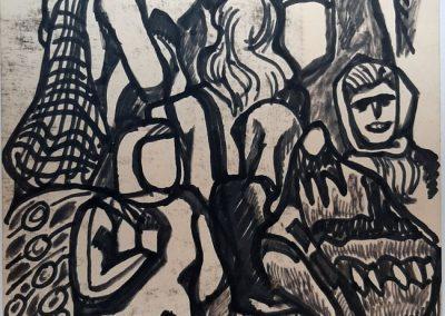 "Zenoviy Flinta ""Besags"" (Gutsul bags), 1967"