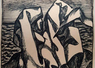 Zenoviy Flinta. Drawing #31. 1968