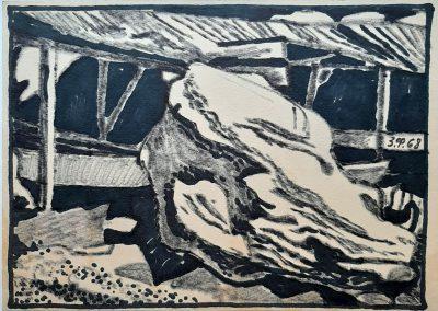 Zenoviy Flinta. Drawing#34. 1968