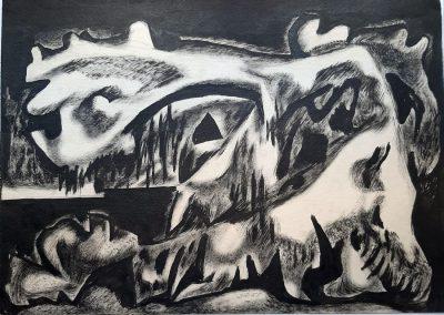 "Zeniviy Flinta 'Paw of a Christmas tree"", 1965"