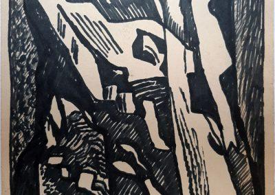 """Zenoviy Flinta """"Rocks and abysses"""" 1965"""