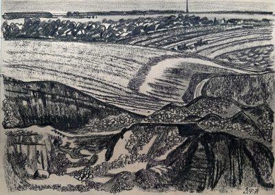 """Zenoviy Flinta """"Fields"""" 1971"""