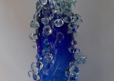 Spring rhapsody. blowing glass vase. Vasyl Bilous.