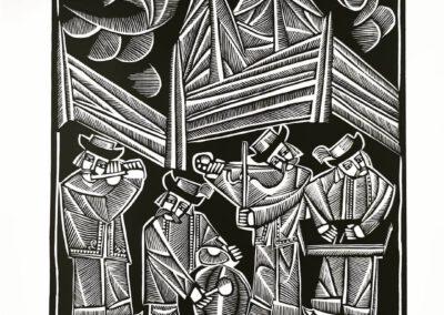 Ivan Ostafiychuk. Musicians. 1968
